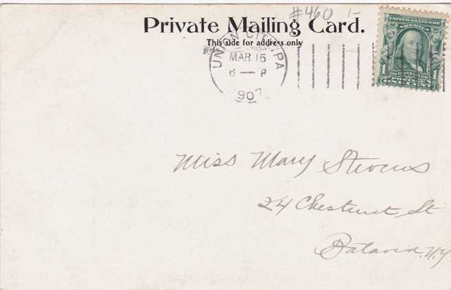 First Methodist Church - Union City, Pennsylvania - pm 1907 - PMC