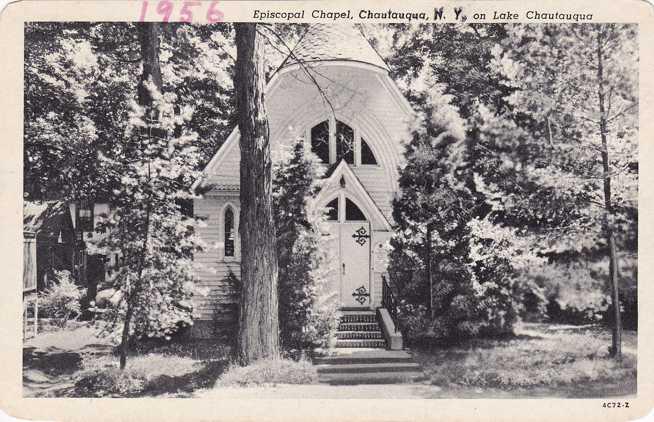 Episcopal Chapel at Chautauqua, New York - pm 1956