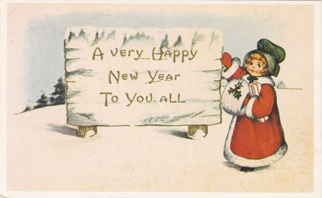 A Very Happy New Year To You All