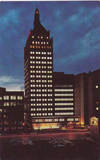 Playle's: Kodak Office Building Evening View - Rochester ...