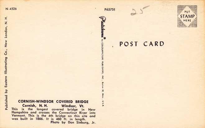 Cornish-Windsor Covered Bridge - Cornish, New Hampshire