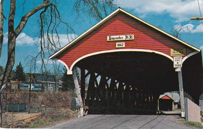 Mechanic Street Covered Bridge - Lancaster, New Hampshire