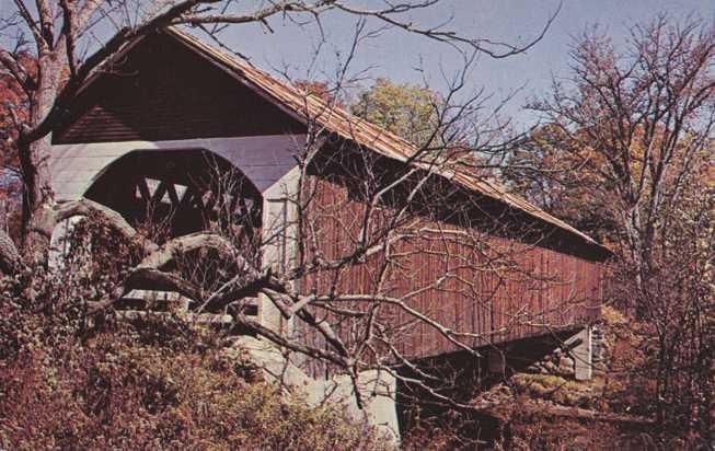 Old Covered Bridge - Lyme, New Hampshire