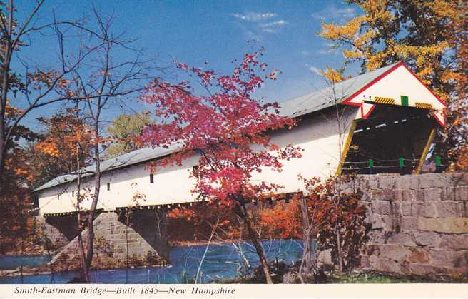 Smith-Eastman Covered Bridge near Redstone, New Hampshire