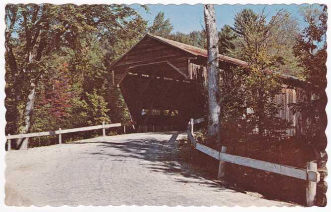 Durgin Covered Bridge - Cold River, Sandwich, New Hampshire