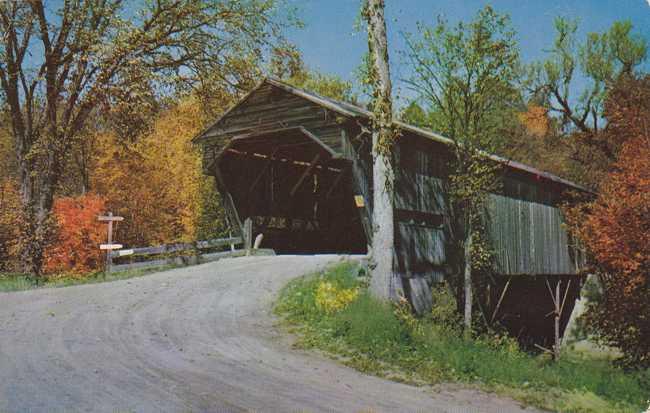 Old Covered Bridge - Sandwich, New Hampshire