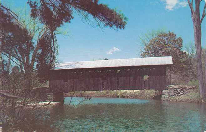 Warner River Covered Bridge - Waterloo, New Hampshire