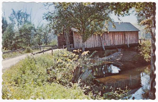 Turkey Jim's Covered Bridge - West Campton, New Hampshire