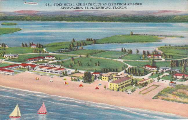 Tides Hotel and Bath Club - St Petersburg, Florida - Linen Card