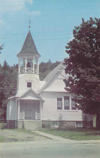Church of the Lakes - Inlet, Adirondack Mountains, New York
