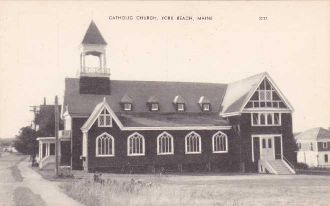 Catholic Church - York Beach, Maine