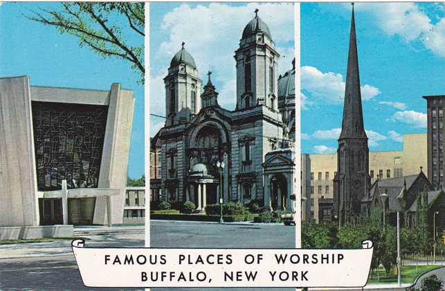 Famous Places of Worship - Churches - Buffalo, New York