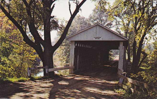 Mill Creek Covered Bridge - Eaglesville, Ashtabula County, Ohio