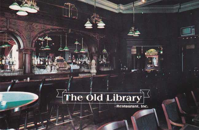 Olean, New York - The Old Library Restaurant
