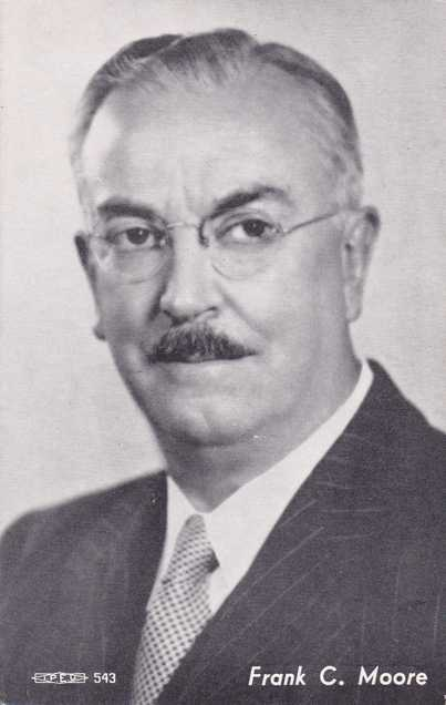 Frank C Moore - 1950 New York State Lieutenant Governor