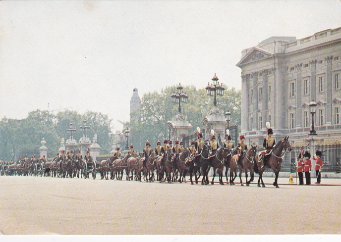 King's Troop Royal Horse Artillery - Buckingham Palace - London, United Kingdom