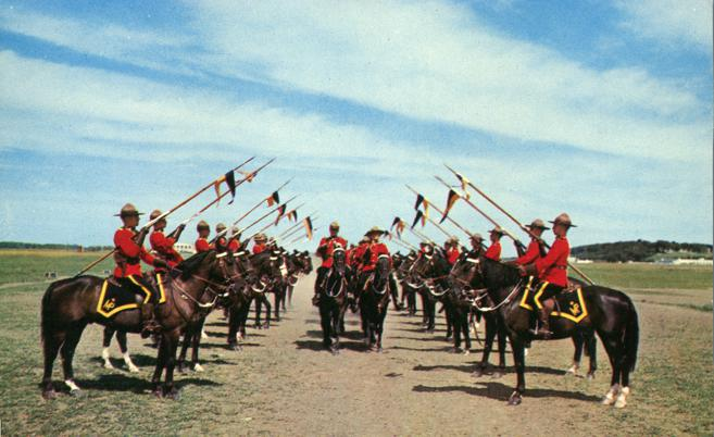 Troop Inspection - Royal Canadian Mounted Police