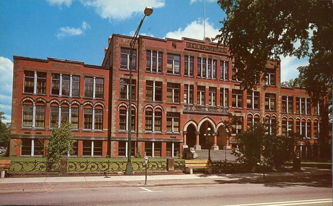 Teachers College at Fredericton, New Brunswick, Canada