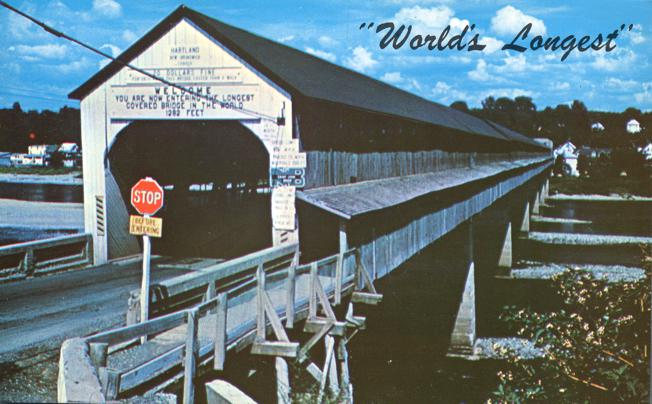 Hartland, New Brunswick, Canada - World's Longest Covered Bridge