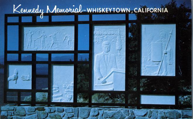 JFK - Kennedy Memorial - Whiskeytown, California