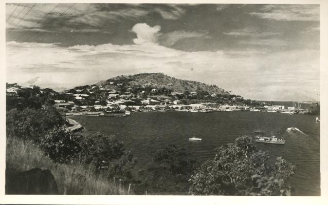 RPPC Harbor at Port Moresby - Papua New Guinea - Real Photo