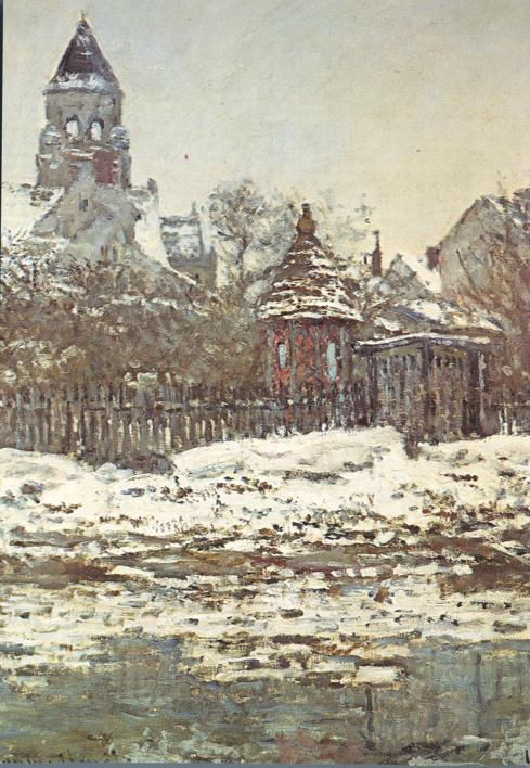 Paris, France - Painting by Claude Monet - Musee du Jeu de Paume