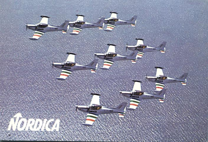 Nordica Flying Troupe - Across the Atlantic - Aviation