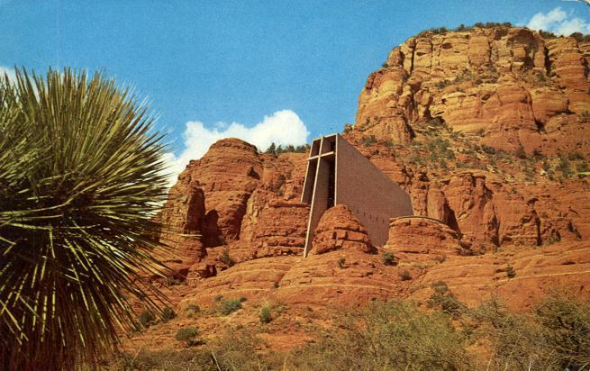 Holy Cross Church near Sedona, Arizona
