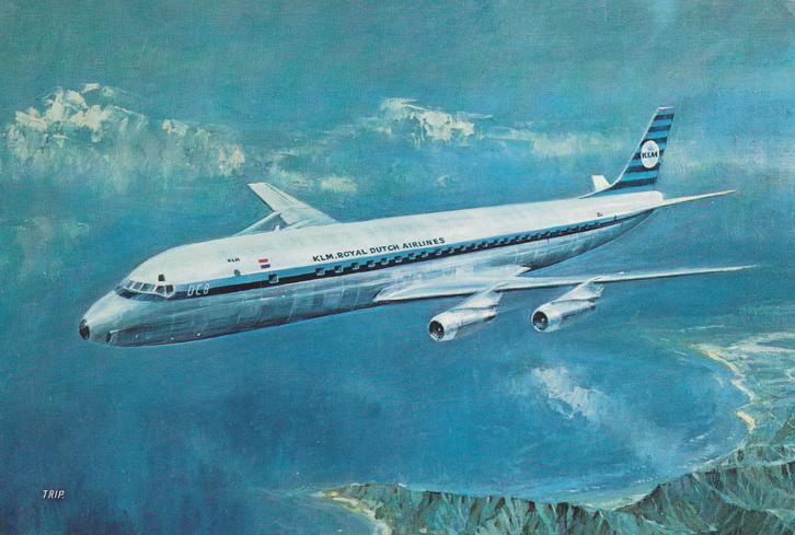 KLM - Royal Dutch Airlines - Douglas DC-8 Intercontinental Jet