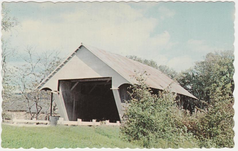 Lyndonville, Vermont - Covered Bridge