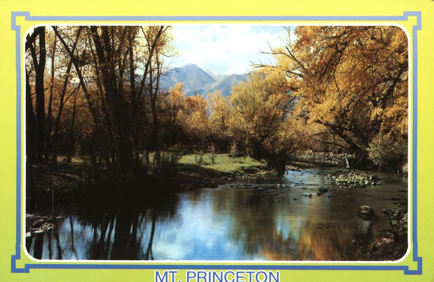 Mt Princeton - View from Cottonwood Creek - Buena Vista, Colorado