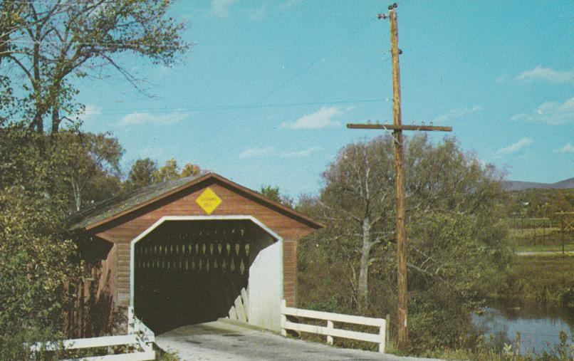 Silk Road Covered Bridge - North Bennington, Vermont