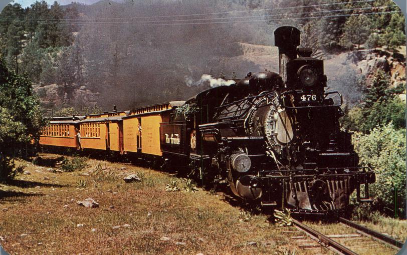Last of narrow gauge Trains - Durango to Silverton, Colorado