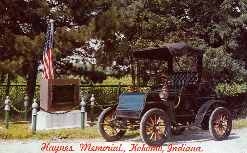 Haynes Memorial First Commercial Automobile Kokomo Indiana