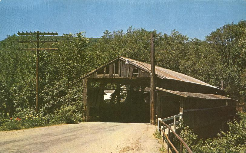 The Old Covered Bridge at Waitsfield, Vermont