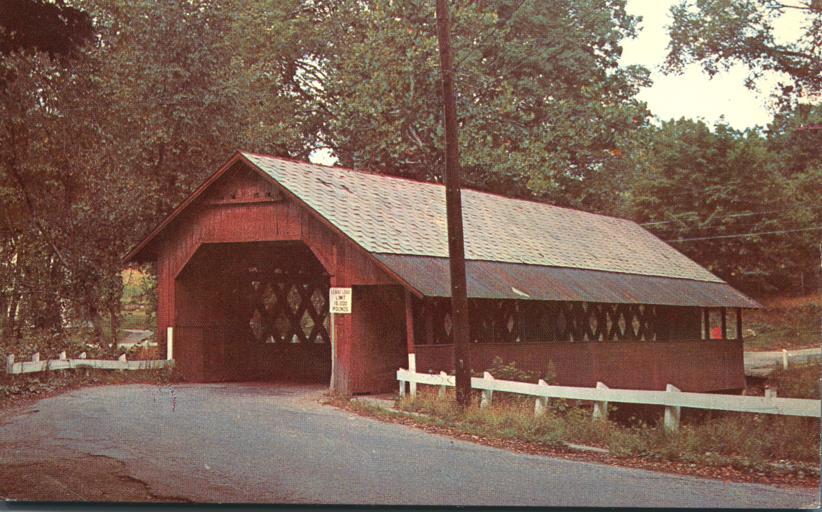 Creamery Covered Bridge - West Brattleboro, Vermont