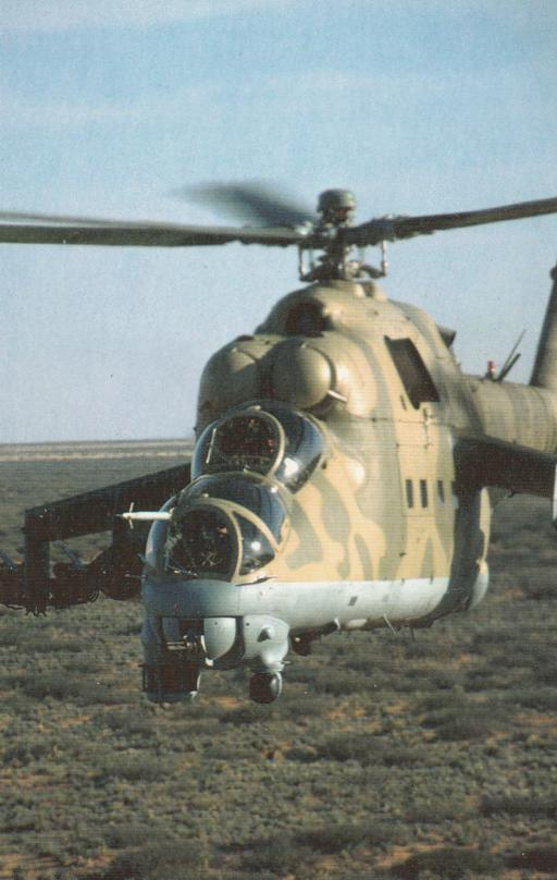 Russian Made Mi-24 Hind Attack Helicopter - US Army Training