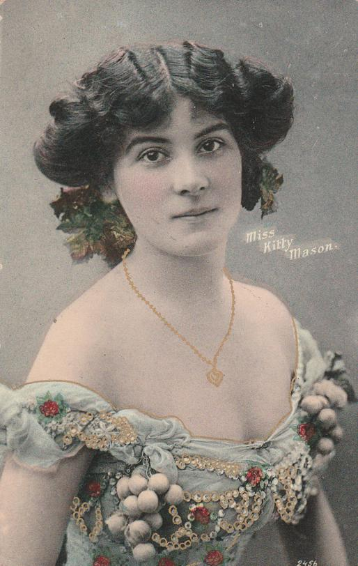 Miss Kitty Mason - Actress - Beautiful Lady - Divided Back