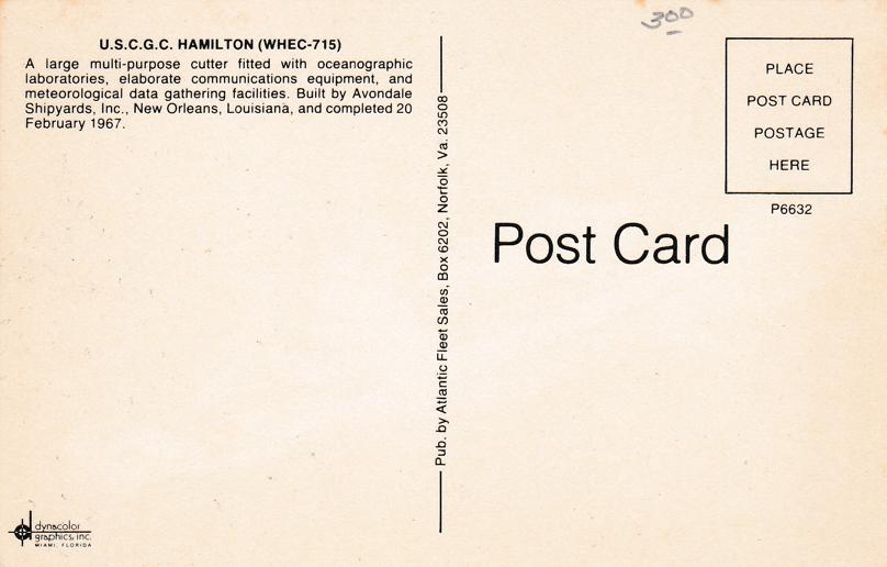 Coast Guard Cutter Hamilton (WHEC-715) - Military Ship