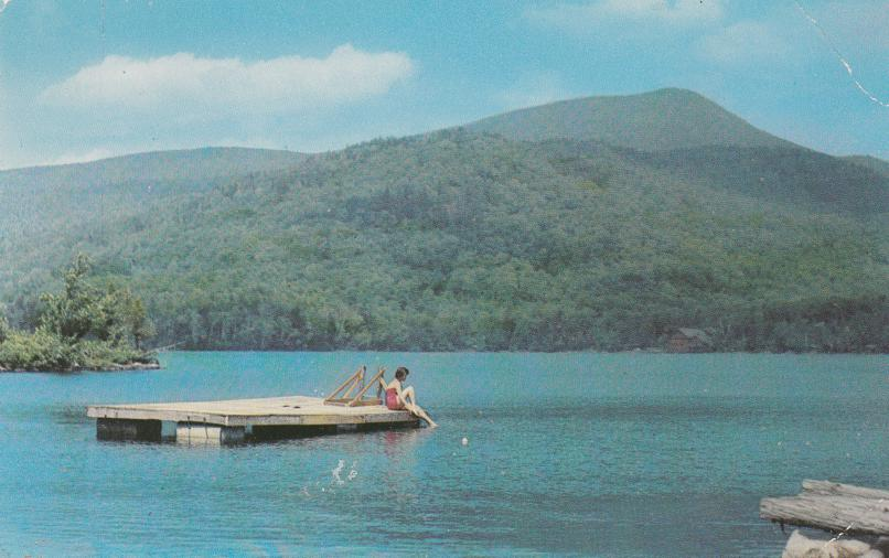 Blue Mountain from Lake, Adirondack Mountains, New York