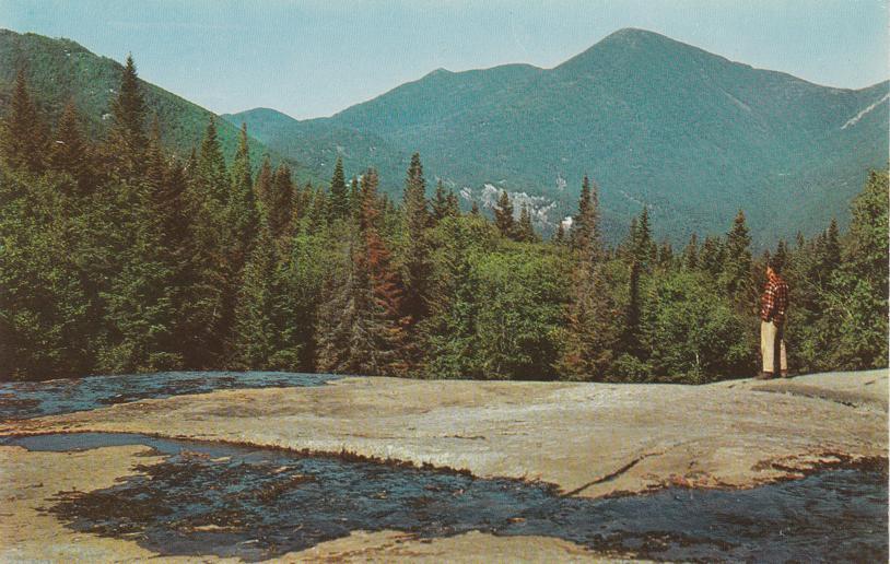 MacIntyre Mountain Range from Marcy Brook - Adirondack Mountains, New York