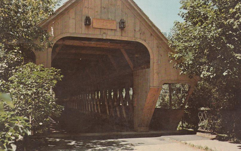 Woodstock, Vermont - Middle Covered Bridge