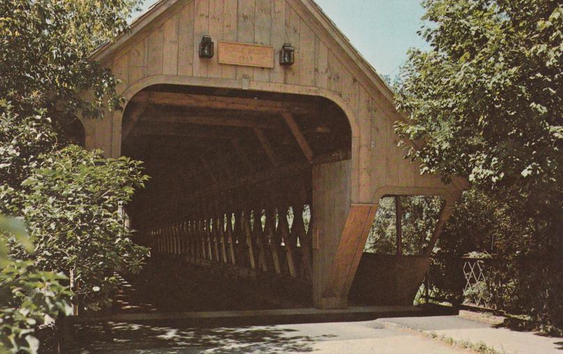 Woodstock, Vermont - Middle Covered Bridge