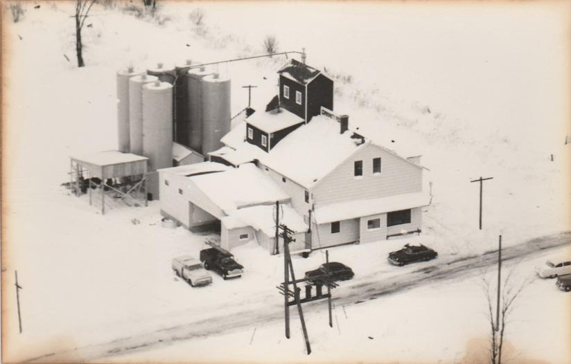 RPPC Winter View of Farm in Penfield, New York - Real Photo