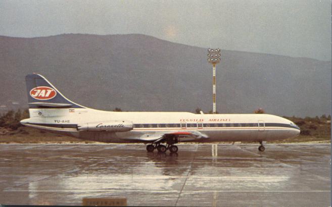 JAT-Yugoslav Airlines Caravelle 6N - Dubrovnik, Yugoslavia