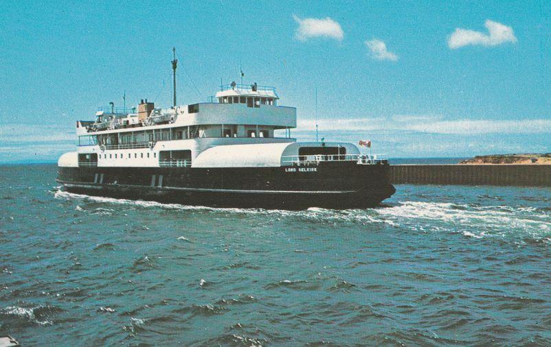 Ferry M.V. Lord Selkirk - Wood Island, Prince Edward Island, Canada