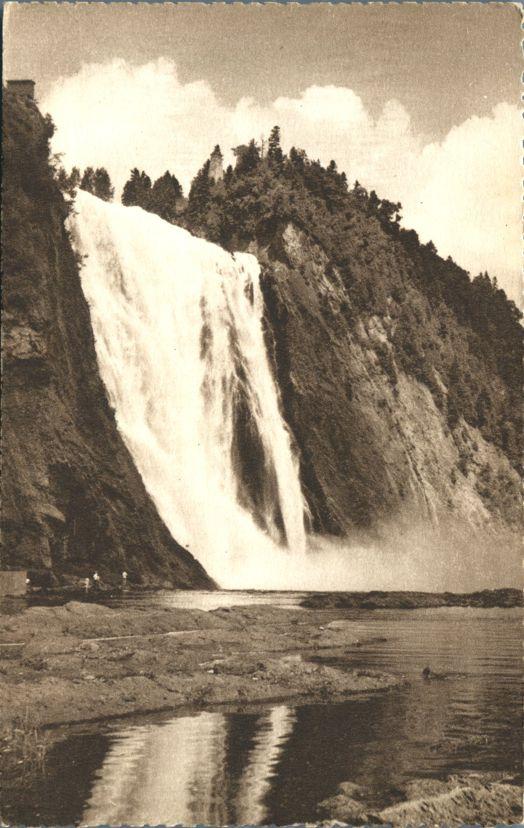 Chutes de Montmorency, Quebec, Canada - Montmorency Falls