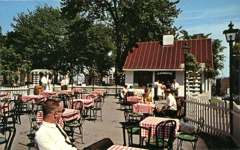 La Guinguette Open Air Restaurant - Montreal, Quebec, Canada