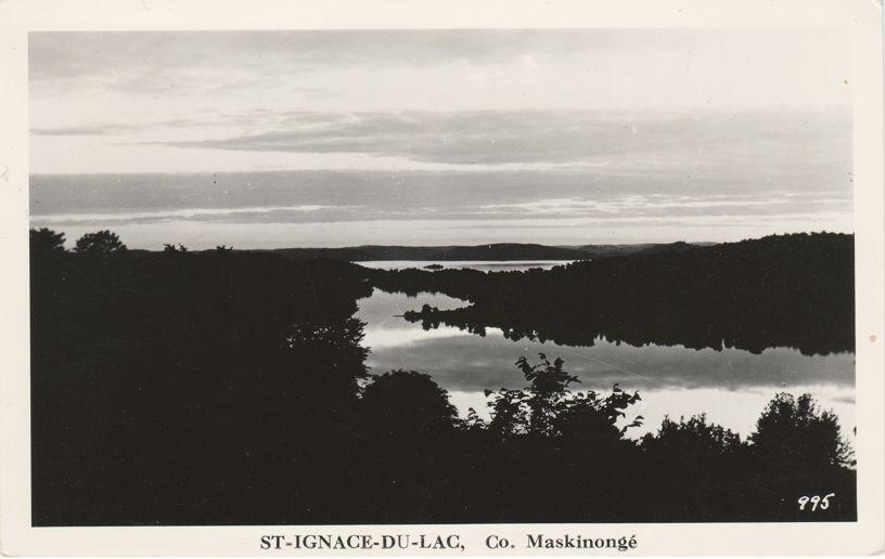 RPPC St-Ignace-Du-Lac - County Maskinonge, Quebec, Canada - Real Photo