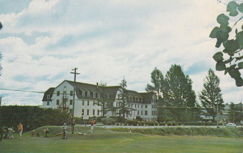 Abitibi Golf Club and Iroquois Hotel - Ansonville - Iroquois Falls, Ontario, Canada